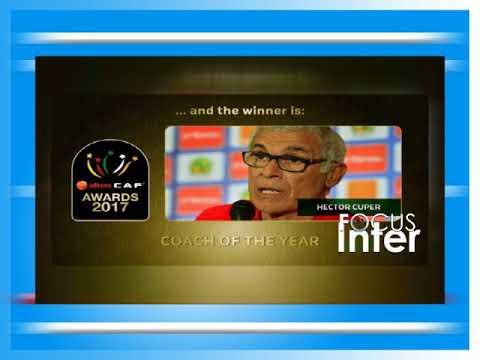 CAF AWARDS 2017  avec GULLITH BASAKISA