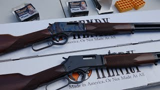Henry Repeating Arms Big Boy Color Case Hardened .44 Magnum vs Big Boy Steel .44 Magnum