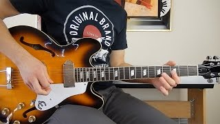 The Beatles - Taxman - Guitar Cover - Epiphone Casino