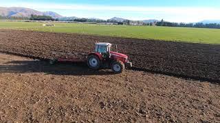 Massey Ferguson 7715s Ploughing NZ | Go Deep Or Go Home | Breaking Her In
