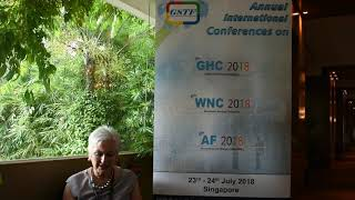 Prof. Jean Rankin at WNC Conference 2018 by GSTF Singapore