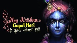 HEY KRISHNA GOPAL HARI - हे कृष्ण गोपाल हरी - कृष्ण भजन   VERY BEAUTIFUL SONG
