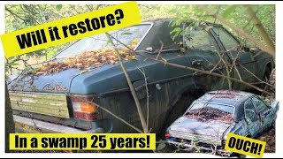 Abandoned Ford Cortina - Rescue and Restore