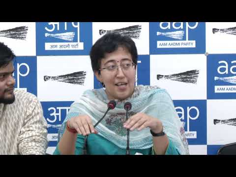 AAP Leader Atishi Briefs on the issue IT Raids On Minister Kailash Gahlot