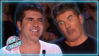 Simon Cowell's TOP Comedians On Britain And America's Got Talent! | Top Talent