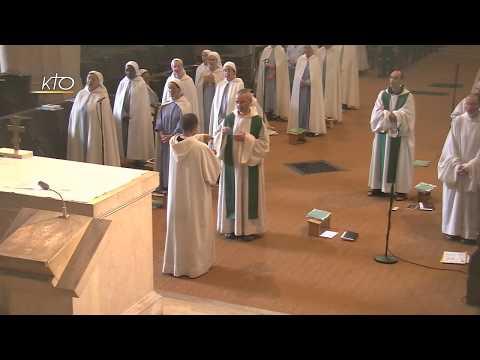 Vêpres et messe du 8 juillet 2017