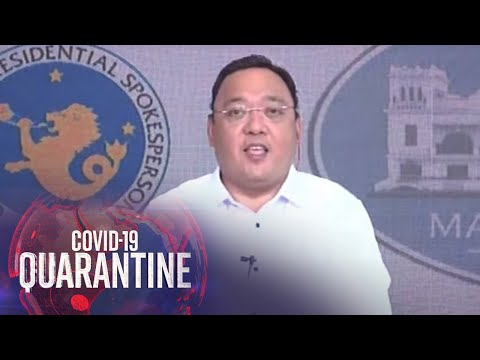 [ABS-CBN]  Presidential Spokesman Roque holds press briefing (3 August 2020)