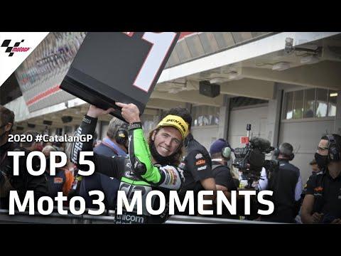 Moto3 カタルーニャGP 決勝レースのハイライト動画