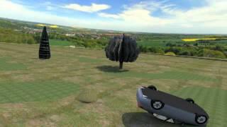 Simulacion 3D: Accidente Diputado Juan Lobos