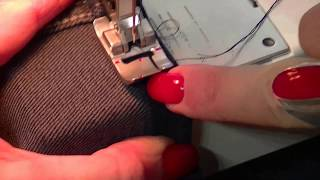 Sewing Machine Tips and Tricks: How to Sew a Jeans Hem.