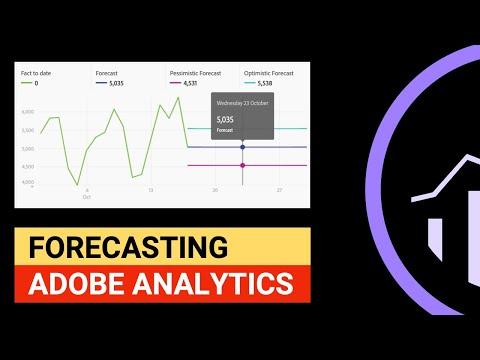 Adobe Analytics Forecasting. Analysis Workspace 2019 - YouTube