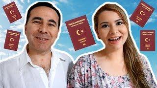 COMO CONSEGUİR A CİDADANİA TURCA - Mayara e Serkan na Turquia