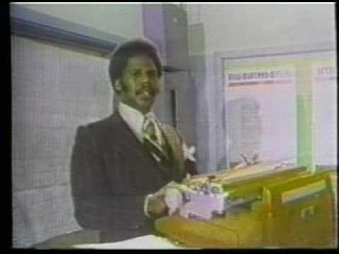 "Witness Ron ""Typewriter"" Mingo In Action"