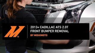 DIY - 2013+ Cadillac ATS: How To Remove Your Front Bumper by Mishimoto