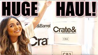 CRATE & BARREL + CB2 HAUL | Kitchen Essentials