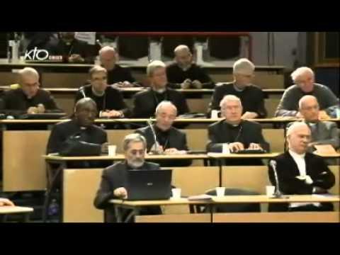 Assemblée des évêques - Séance de clôture (automne 2012)
