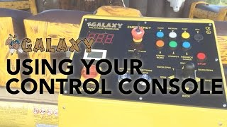 How To Use Your Control Console - Galaxy Multi Rides