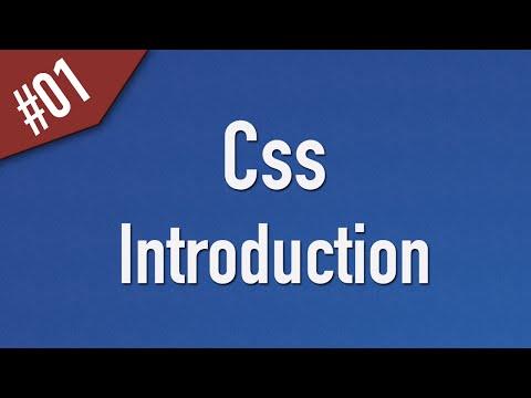 تعلم CSS القائمة #1 الفديو #1