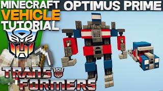 Optimus Prime - Transformers Minecraft Tutorial