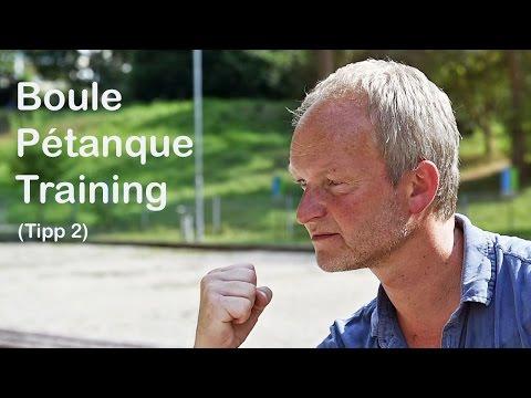 Boule Pétanque Training - Tipp 2