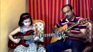 Lakdi Ki Kathi on Guitar by Misti - mnm8