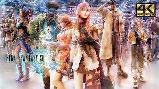 Final Fantasy XIII Chapter 7 Palumpolum Gameplay with Mods 4K 60FPS