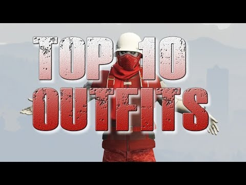 GTA 5 ONLINE - MY TOP 10 COOLEST OUTFITS #2! (2018)