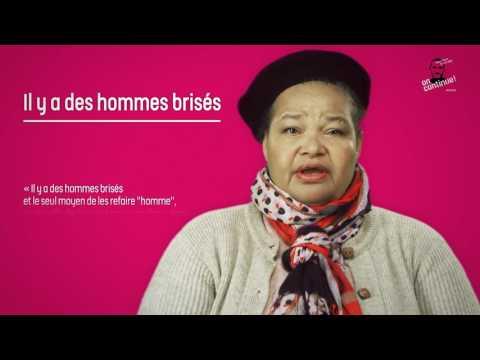 """Georgette lit """"Il y a des hommes brisés"""" de l'abbé Pierre"""
