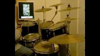 QUI'-VALLE GIULIA- antonello venditti - (studio version) -drum cover