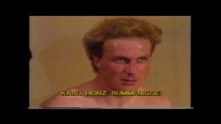 Interview Mit Bundestrainer Jupp Derwall Und Karl-Heinz Rummenigge (ARD/ORF, 27.04.1983)