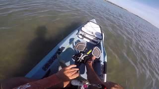 BIG TROUT on Topwater - Fishing Lighthouse Lakes Port Aransas, Texas