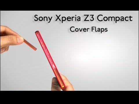 Any Easy Way to Remove Xperia Z3 Compact USB + Micro SD + SIM Cover Flaps?