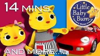 Road Safety Song for Children   Drive on Right Version   Plus More Nursery Rhymes by LittleBabyBum!