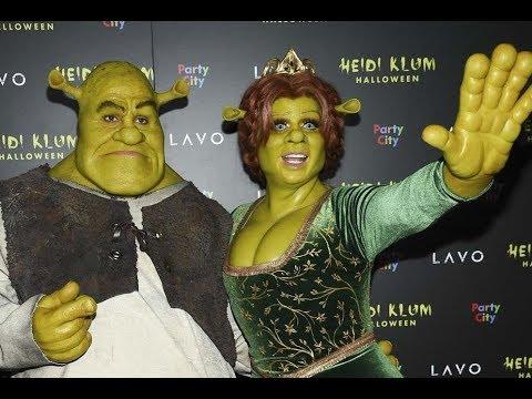 La reina de Halloween: Se disfrazaron de Fiona y Shrek | Noticias con Yuriria