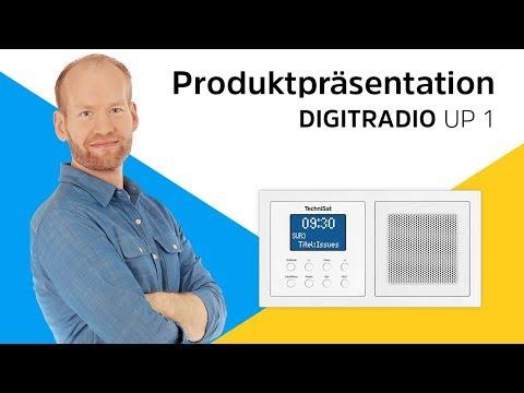Digitalradio für die Doppelunterputzdose. | DIGITRADIO UP 1 |  TechniSat