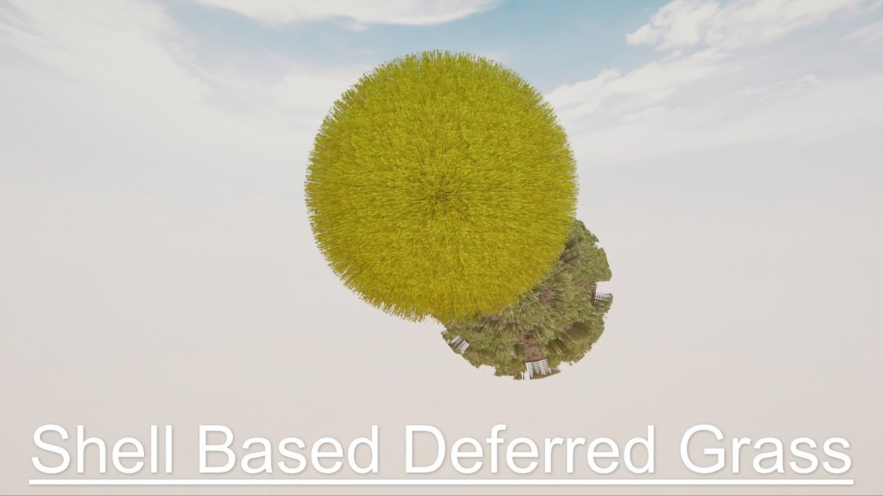 Shell Based Deferred Grass – Unity