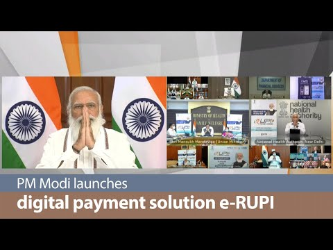 PM launches digital payment solution e-RUPI