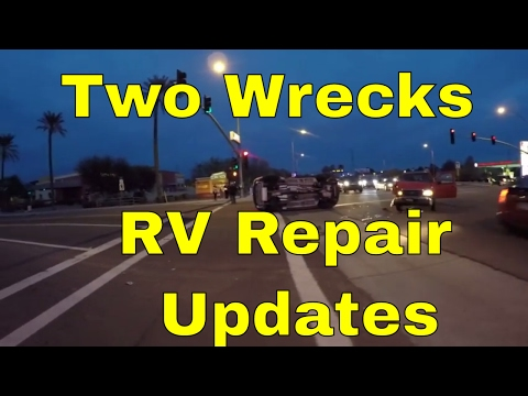 Car Flipped Near Stealth Camping Spot, Outrageous Price On RV Salvage AC & RV Radiator Quotes
