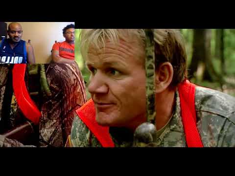 Hunting, Butchering and Cooking Wild Boar - Gordon Ramsay reaction