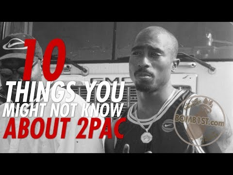 10 Things You Didn't Know About 2Pac