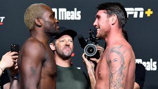 UFC Vegas 36: Weigh-in Faceoffs
