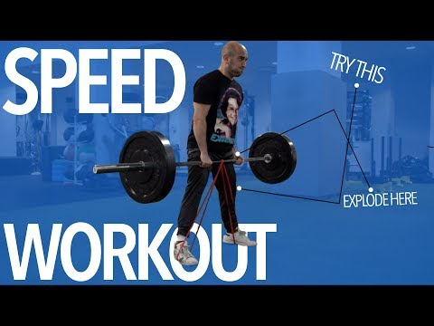 Barbell Speed Deadlifts
