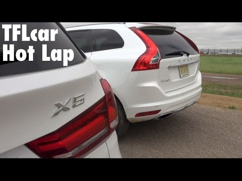 2014 BMW X5 vs Volvo XC60 Racetrack Mashup: 2 Hot Laps but only 1 Winner