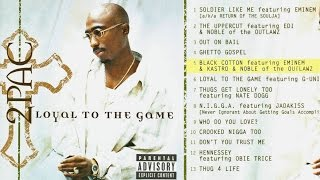 2Pac (Tupac) - Black Cotton (OG Unreleased, Original Version) (2016)