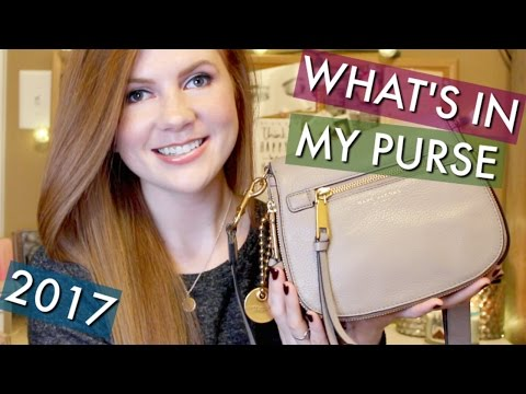 WHAT'S IN MY PURSE 2017 (MARC JACOBS) || Kristen Kelley