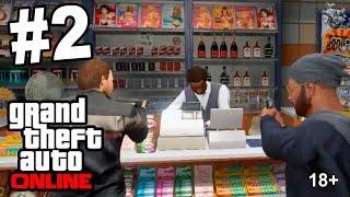 GTA Online [Первые совместные дела] #2   Grand Theft Auto V Online [Copy]