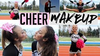 MY CHEER MAKEUP ROUTINE | GRWM