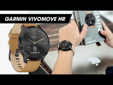 """Review Garmin Vivomove HR l Đồng hồ """"lai"""" thiết kế đẹp nhất trong đại gia đình Garmin"""