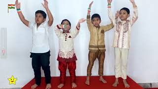 bharat mera pyara desh: My lovely nation India: Hindi patriotic song: independece-WonderStars