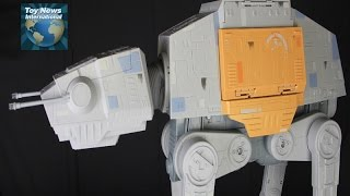 """Star Wars Rogue One Hasbro 3.75"""" Scale Rapid Fire Imperial AT-ACT Vehicle Toy Review"""